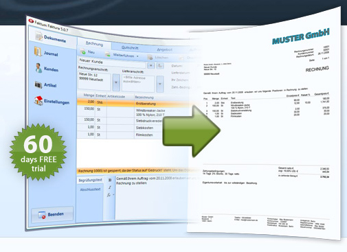 Invoicing Software - Invoice Software - Billing Software - Free trial